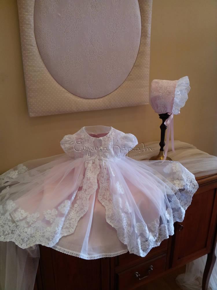 d767f829c55 Βαπτιστικά ρούχα για κορίτσι, βαπτιστικά φορέματα
